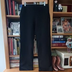 Eileen Fisher Black knit pants